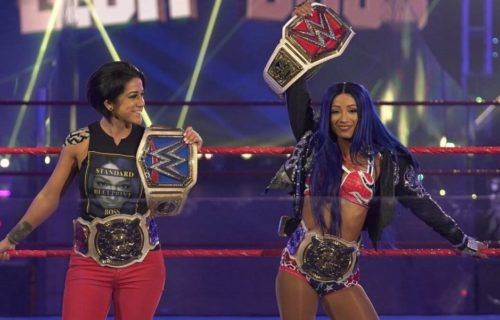 Sasha Banks is confident WWE will make her team up with Bayley again