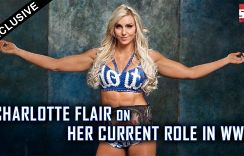 Charlotte Flair says she appears on all three WWE brands because she's the hardest worker
