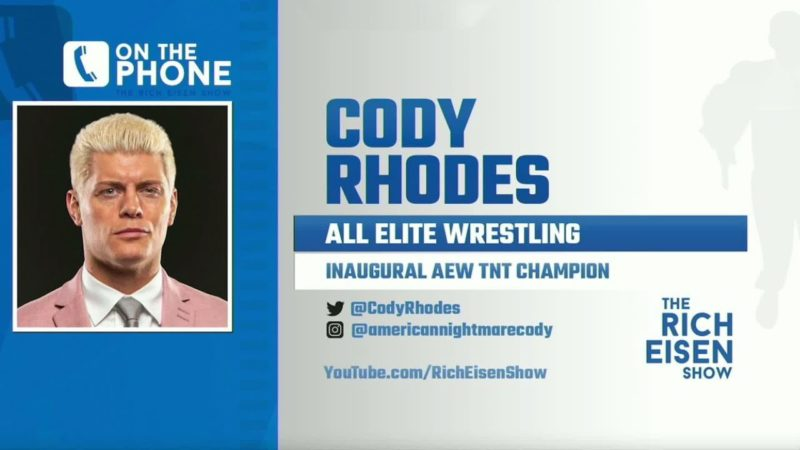 """Cody Rhodes on AEW: """"It's been bigger than I anticipated"""""""