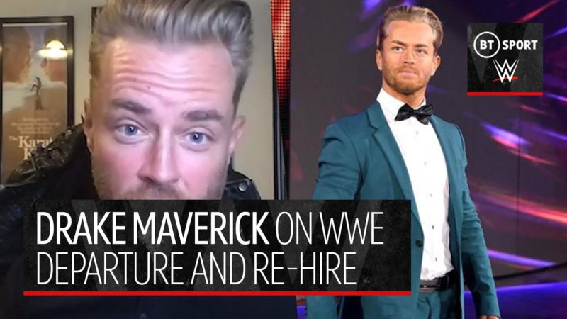 Drake Maverick discusses his NXT opportunity and how it mirrors Rocky movies
