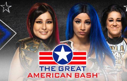 Sasha Banks vs. Io Shirai confirmed for NXT's Great American Bash