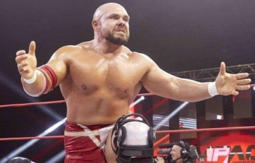 Michael Elgin released by Impact Wrestling, provides statement