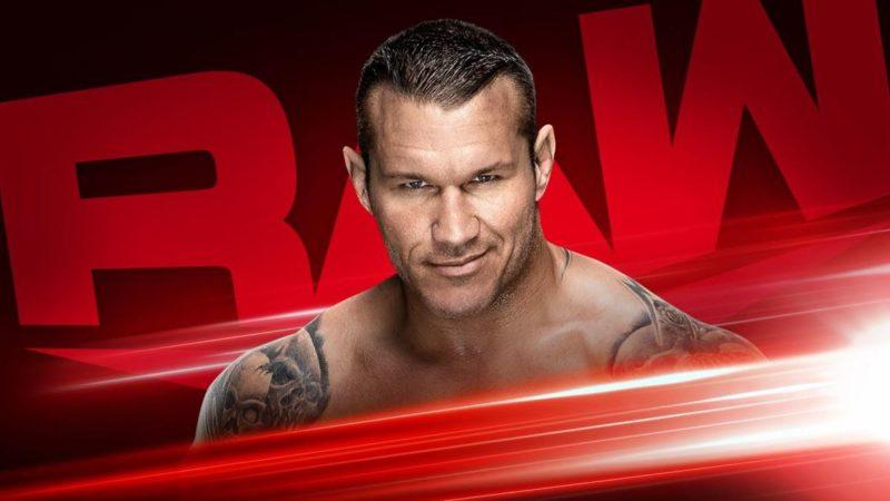 Randy Orton on WWE RAW