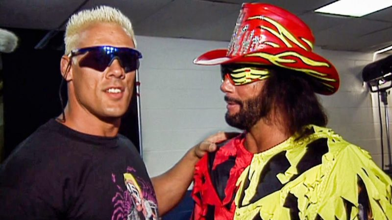 Rare video of backstage moment between Sting and Macho Man Randy Savage