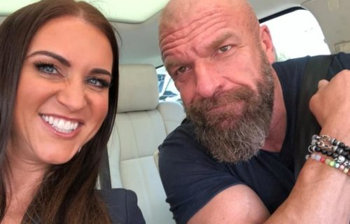 Triple H 'Jealous' Of Stephanie McMahon With WWE Star