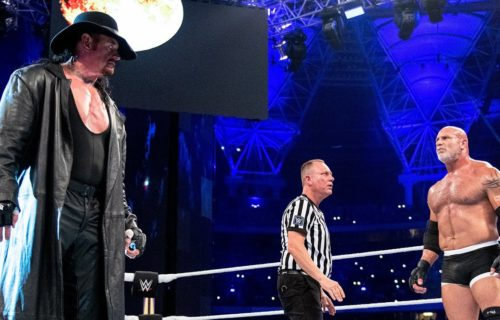 "The Undertaker on Goldberg match and his ""almost catastrophic"" botch"