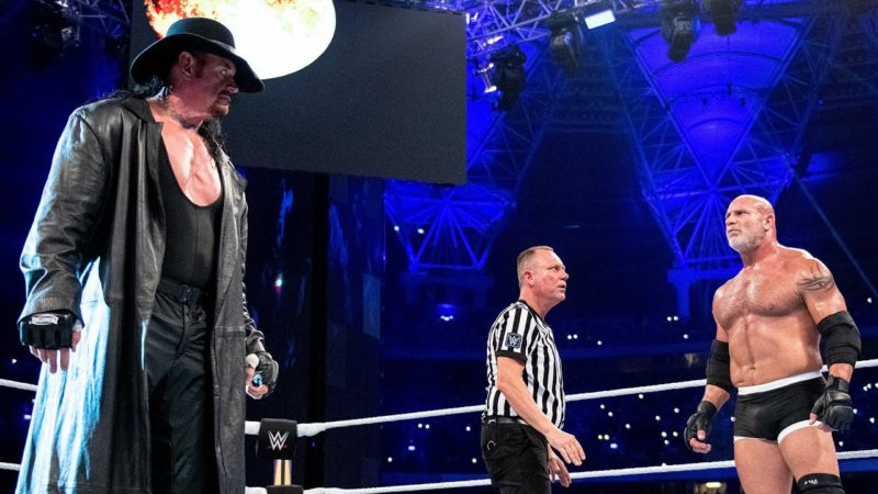 """The Undertaker on Goldberg match and his """"almost catastrophic"""" botch"""