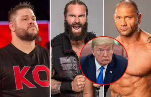 Jaxson Ryker tweets in support of President Trump, receives backlash from Batista, KO & more