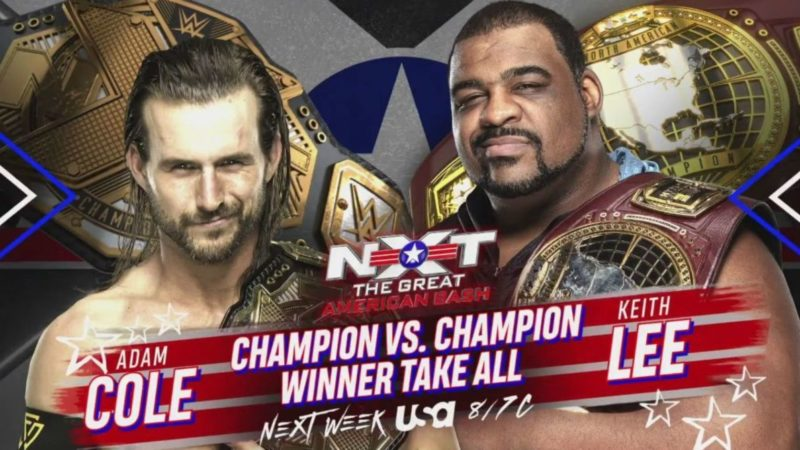 Adam Cole and Keith Lee