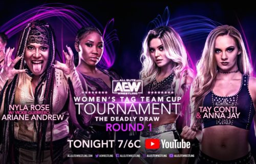 """First match for AEW's """"The Deadly Draw"""" women's tag-team tournament revealed"""