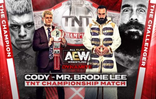 Brodie Lee's squash match against Cody Rhodes was inspired by iconic match