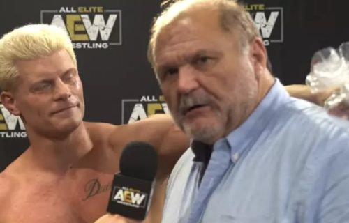 Arn Anderson explains how his role as Cody's coach in AEW came about