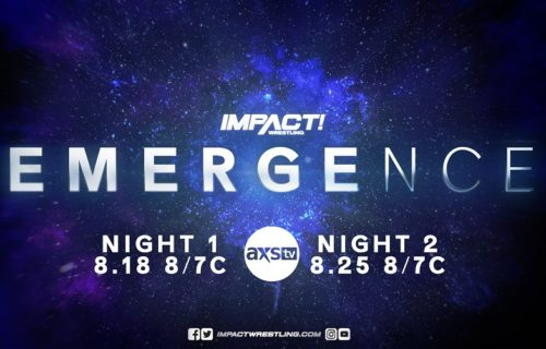 New matches added to Impact Emergence two-week AXS TV special