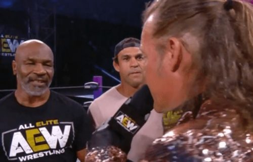 Chris Jericho initially pitched boxing match with Mike Tyson in AEW