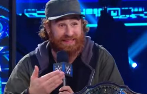 Sami Zayn appears with his Intercontinental title on Talking Smack (Video)