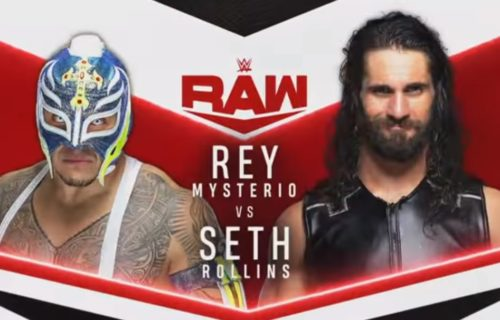 WWE ending Seth Rollins & Rey Mysterio rivalry on Monday's Raw