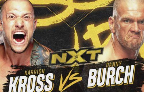 Karrion Kross vs. Danny Burch to open tonight's WWE NXT