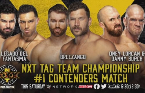 WWE announces No. 1 contender bout for TakeOver: XXX pre-show