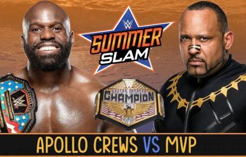 U.S. title match announced for WWE SummerSlam 2020