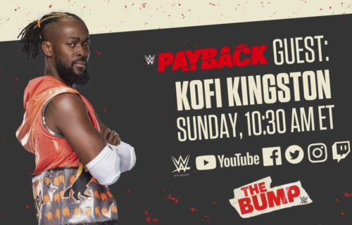 Guests for WWE's The Bump preview special for WWE Payback