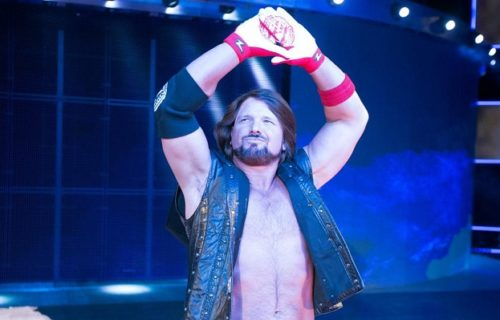 AJ Styles talks 'dream' WWE opponent from the past
