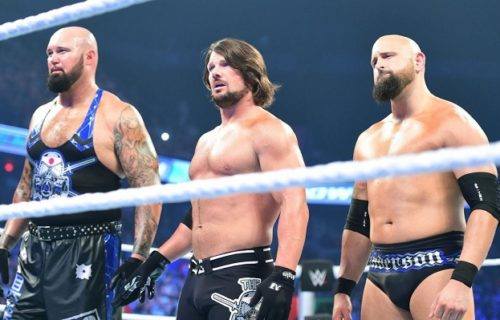 AJ Styles on who is his closest friend in WWE after the release of Gallows and Anderson