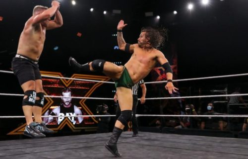 Adam Cole & Pat McAfee did not rehearse for NXT TakeOver match