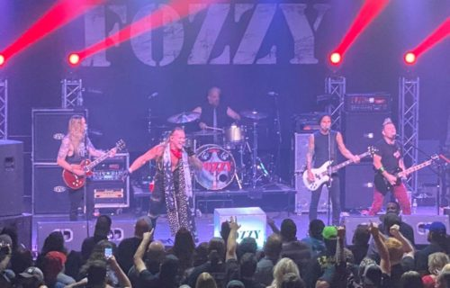 Chris Jericho reacts to backlash for Fozzy performing during COVID-19