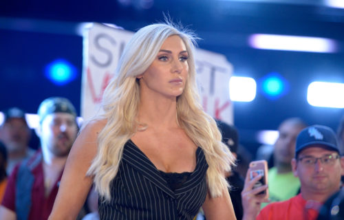 Charlotte Flair Endorses Sports Bra In Photo