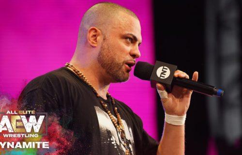 Eddie Kingston talks debut promo on AEW Dynamite
