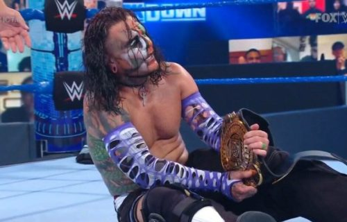 Jeff Hardy beats AJ Styles for WWE Intercontinental Title