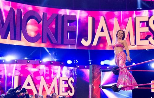 Mickie James returns to Monday Night Raw after year-long absence
