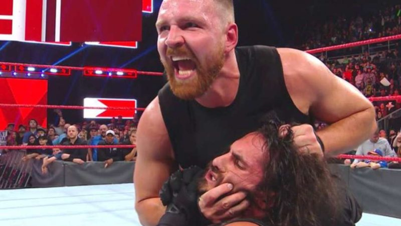 Jon Moxley and Seth Rollins