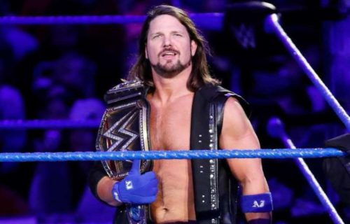 AJ Styles reveals why WWE ended his 371-day Championship run