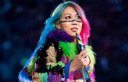Asuka being eyed by NXT Champion for a dream match