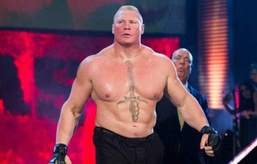 Brock Lesnar To Fight Raw Star In UFC?