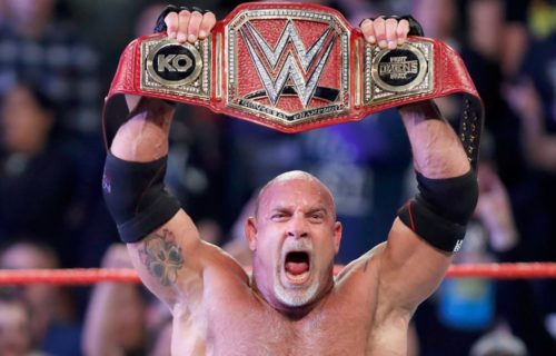 Goldberg reveals how long he has left on his WWE contract