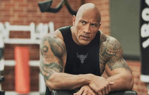 The Rock reacts to Rhea Ripley's post on social media