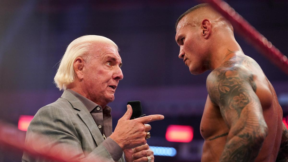 Ric Flair Comments On WWE Raw Attack By Randy Orton 2