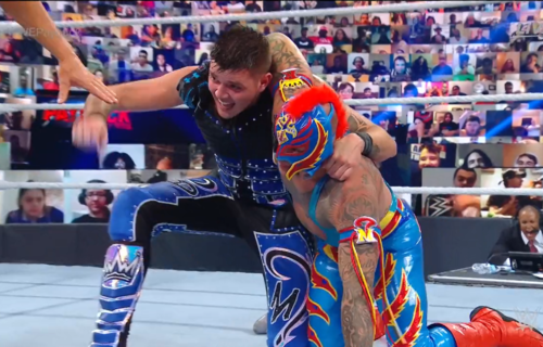 Rey Mysterio suffers injury at WWE Payback