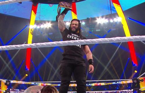Roman Reigns returns during SummerSlam