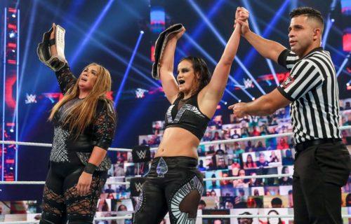 Shayna Baszler & Nia Jax win WWE Women's Tag Team Titles