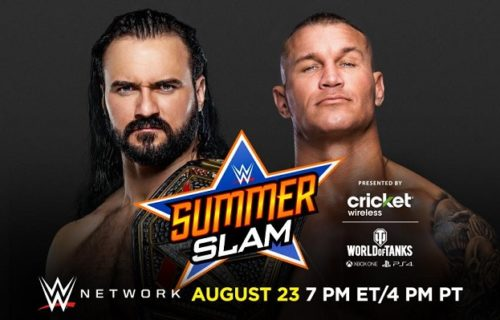 Betting odds for top SummerSlam matches