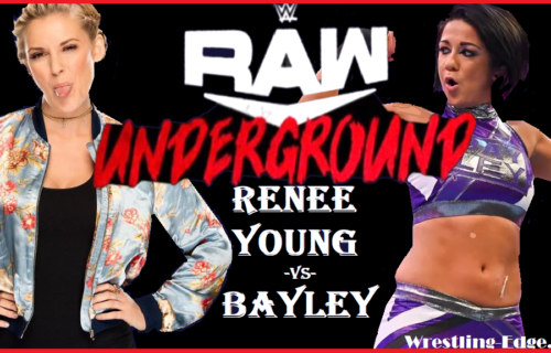 "Renee Young on RAW Underground match with Bayley, ""I'm down"""