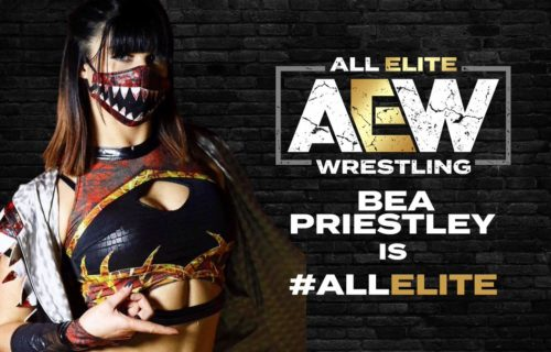 Bea Priestley comments on being released by AEW