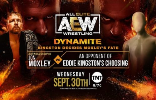Jon Moxley's AEW Dynamite opponent to be decided by Eddie Kingston