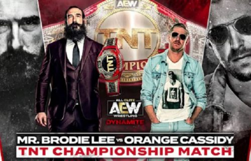 Orange Cassidy TNT title shot, 6-man main event set for AEW Dynamite