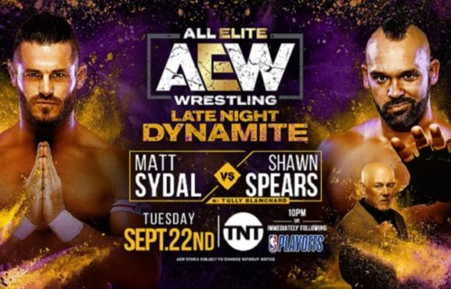 Matches & guest announcer set for AEW late-night Dynamite on 9/22