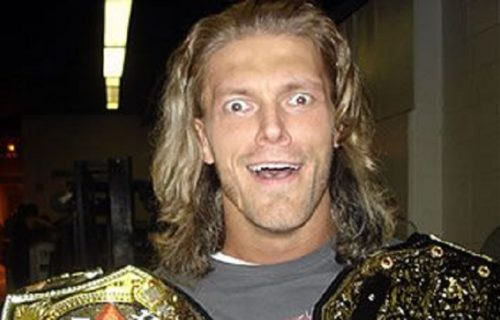 Edge reveals artwork for Rated-R Superstar WWE Title that was passed on