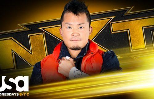 WWE confirms Kushida for first-ever NXT Gauntlet Eliminator